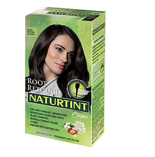 Personal Care - Naturtint - Root Retouch Crème Dark Brown, 45ml