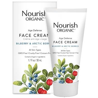 Personal Care - Nourish Organic - Age Defense Face Cream, 50ml