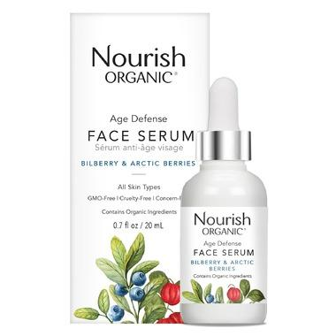 Personal Care - Nourish Organic - Age Defense Face Serum, 20ml