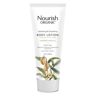 Personal Care - Nourish Organic - Hydrating Body Lotion, Almond Vanilla, 236ml
