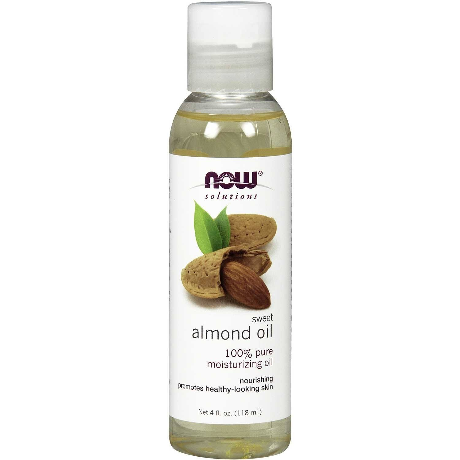 Personal Care - NOW - Almond Sweet Expeller Pressed - 118 ML