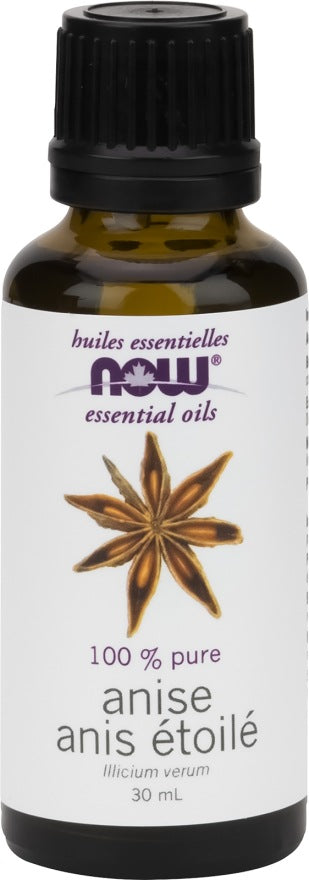 Personal Care - NOW Anise Oil 30ml