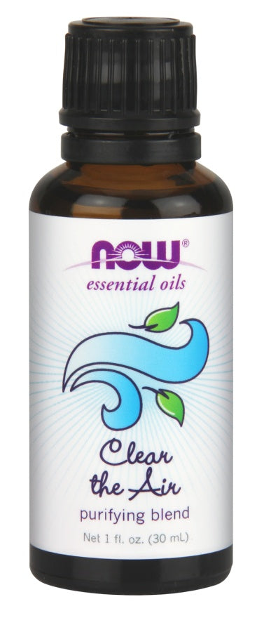 Personal Care - NOW - Clear The Air Essential Oil Blend, 30ml