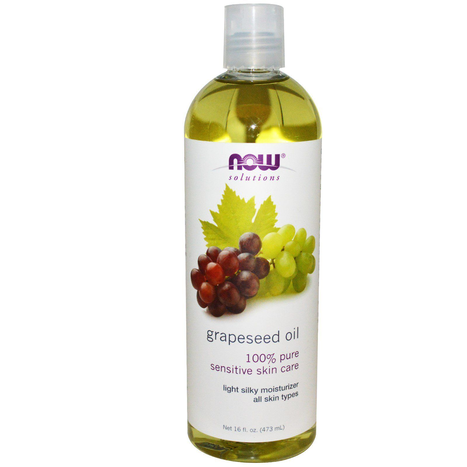 Personal Care - NOW Grapeseed Oil 473ml