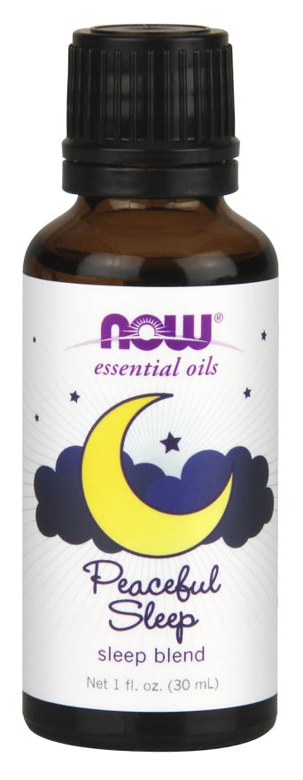 Personal Care - NOW - Peaceful Night Essential Oil Blend, 30ml