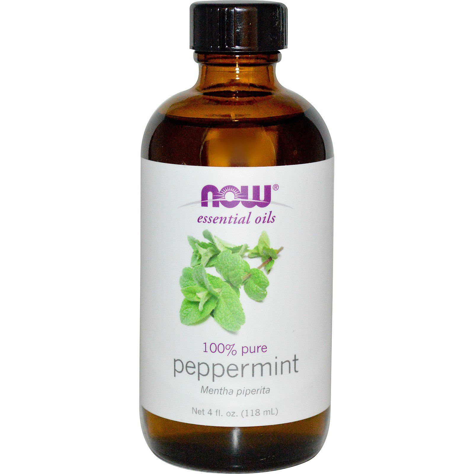 Personal Care - NOW Peppermint Oil 118ml