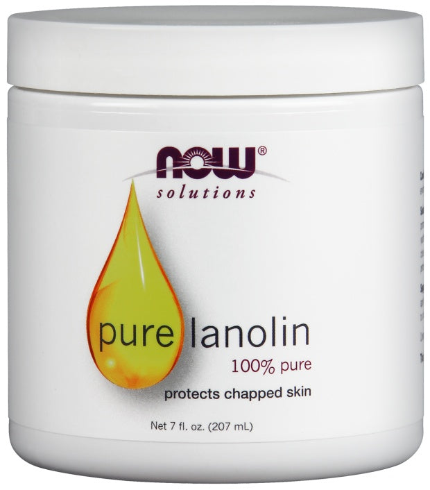 Personal Care - NOW Pure Lanolin 207ml
