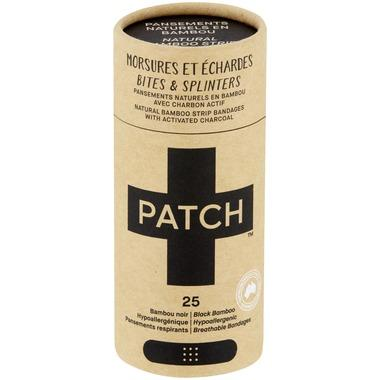 Patch - Activated Charcoal Adhesive Bandage, 25 Pack