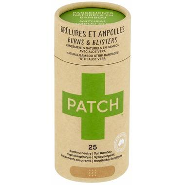 Personal Care - Patch Aloe Vera Adhesive Bandages, 25 Patches