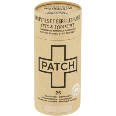 Personal Care - Patch - Natural Adhesive Bandages, 25 Patches
