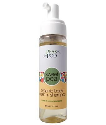 Personal Care - Peas In A Pod - Sweet Pea Organic Body Wash & Shampoo, 220ml