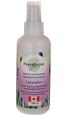 Personal Care - Penny Lane Organics - Spray Deodorant Lavender - 160mL