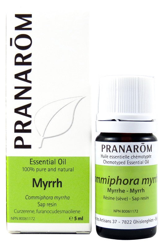 Personal Care - Pranarom - Myrrh Essential Oil, 5 Ml