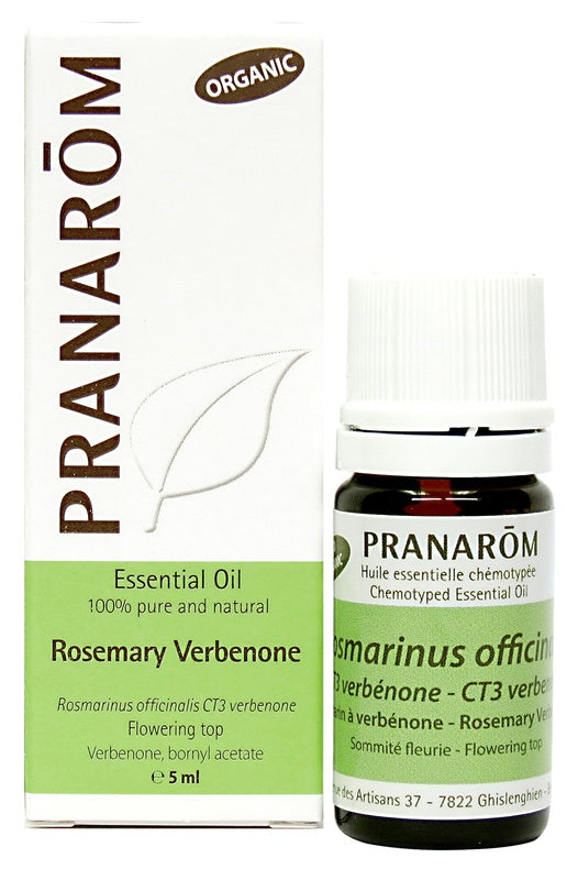 Personal Care - Pranarom - Rosemary Verbenone Essential Oil, 5 Ml