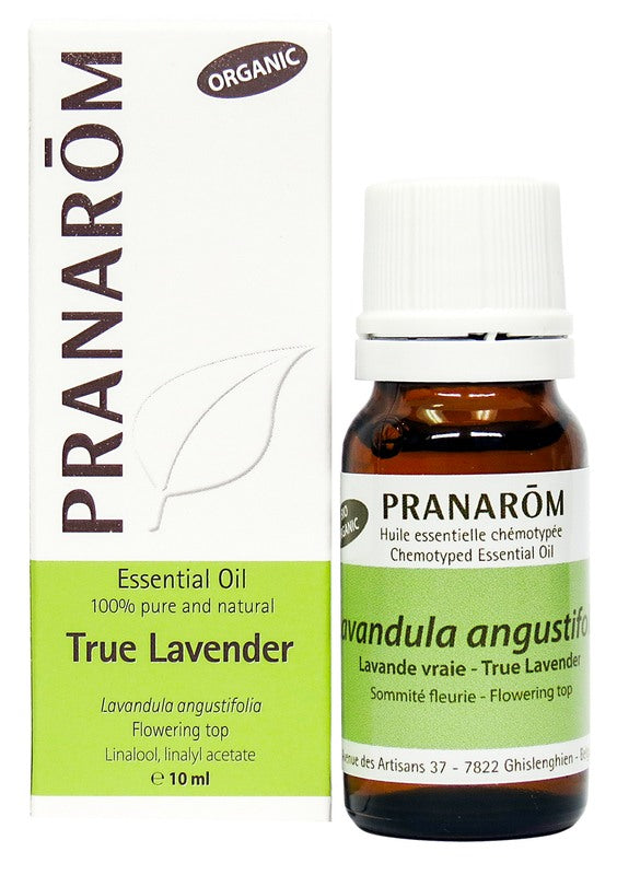 Personal Care - Pranarom - True Lavender Essential Oil, 10 Ml