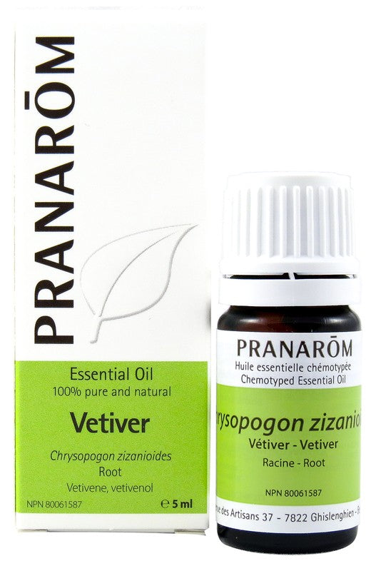 Personal Care - Pranarom - Vetiver Essential Oil, 5 Ml