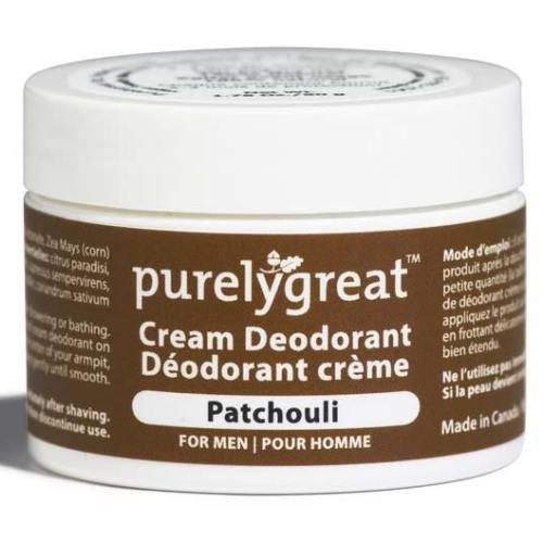 Personal Care - Purelygreat - Deodorant Mens Patchouli - 50g