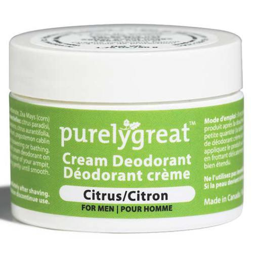Personal Care - Purelygreat - Natural Deodorant Mens Citrus - 50g