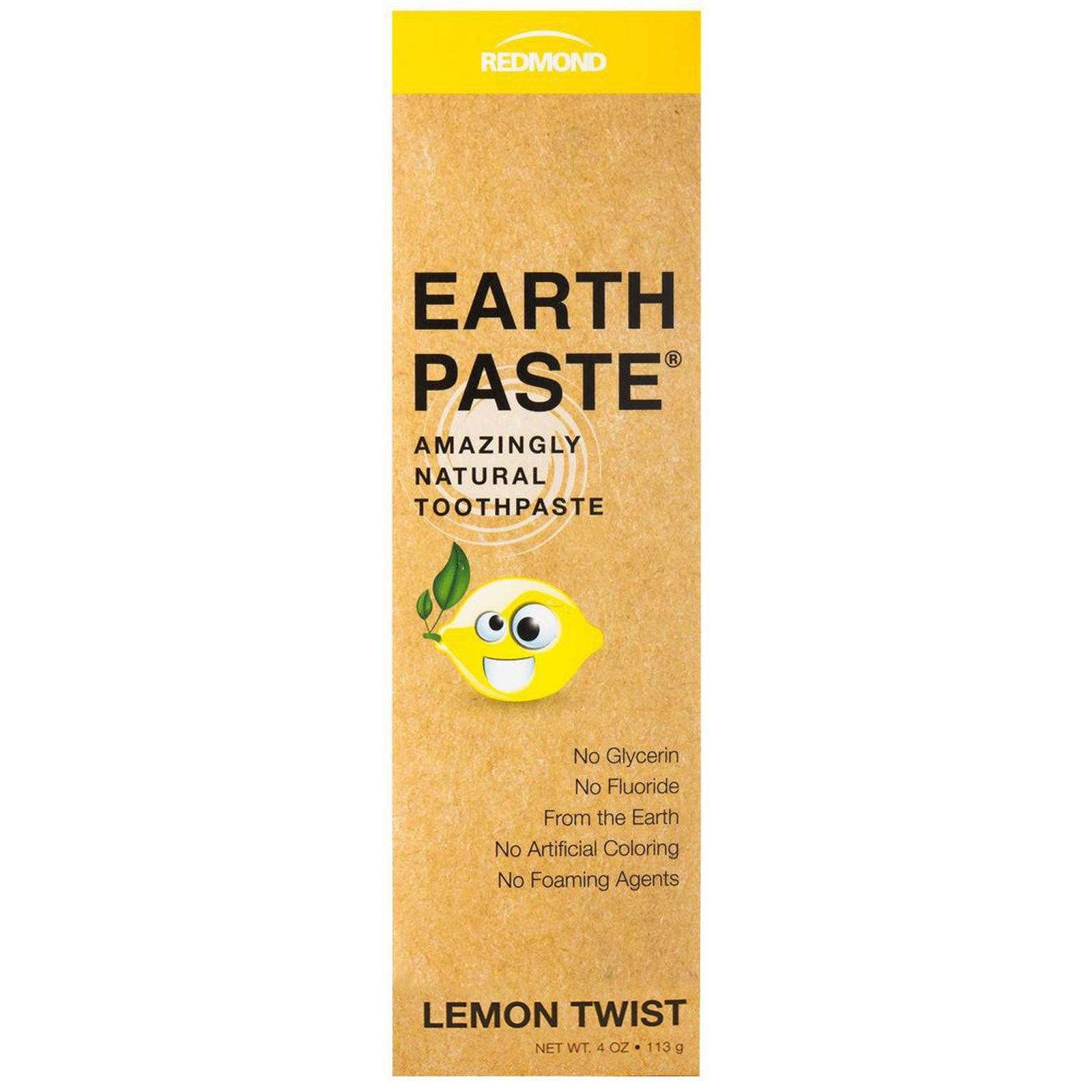 Personal Care - Redmond Trading Co. Toothpaste Lemon Twist - 113g
