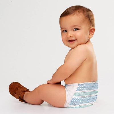 Personal Care - The Honest Co. - Diapers, Size 5, Teal Tribal, 25 Count