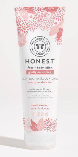 Personal Care - The Honest Co. - Lotion, Gently Nourishing, Sweet Almond, 250ml