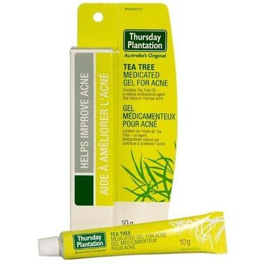 Personal Care - Thursday Plantation - Tea Tree Medicated Gel For Acne, 10g