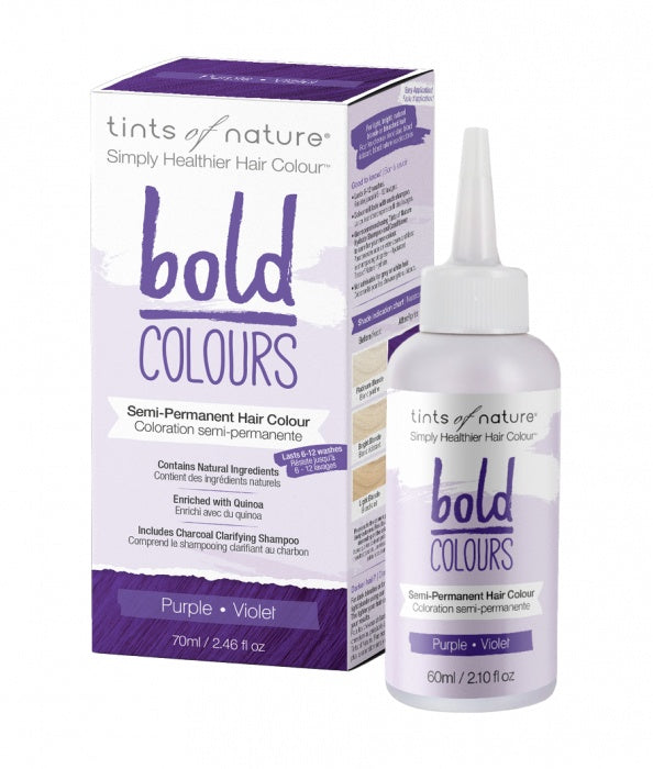 Personal Care - Tints Of Nature - Bold, Purple, 70ml