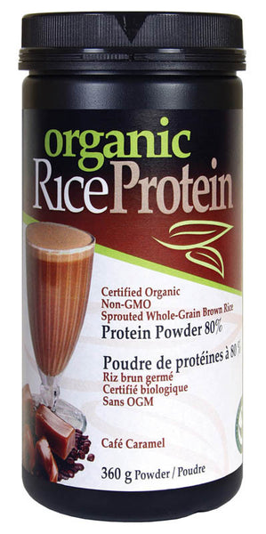 Prairie Naturals - Brown Rice Protein Caramel, 360g - Goodness Me! - 1