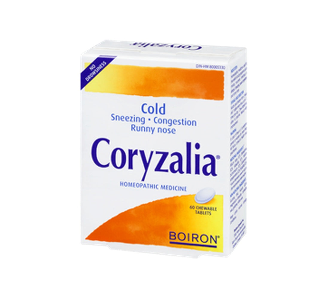 Supplements - Boiron - Coryzalia, 60 TABS