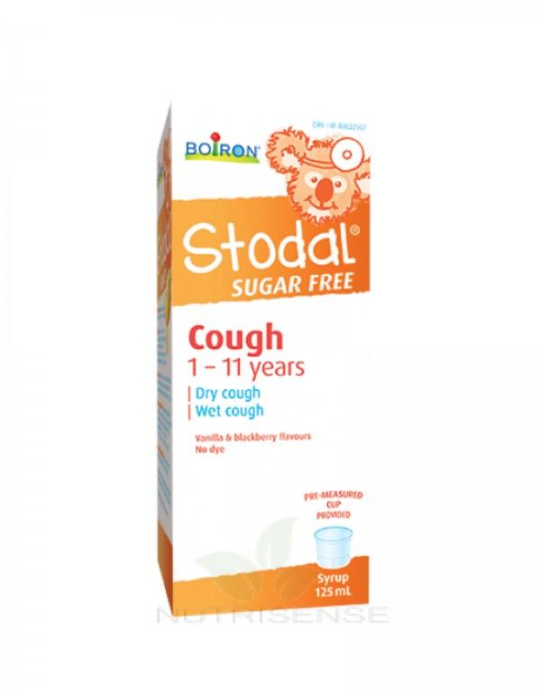 Supplements - Boiron - Stodal Cough Syrup Sugar-free Kids, 125ML