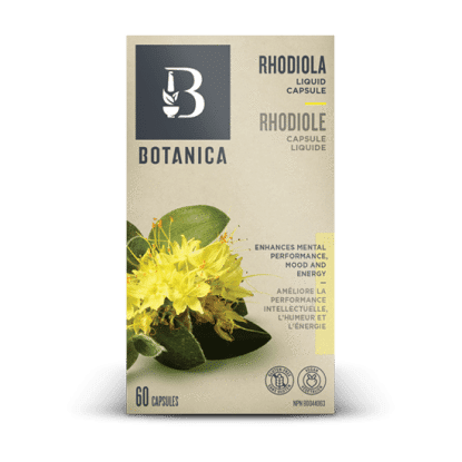 Supplements - Botanica - Rhodiola, 60 Caps