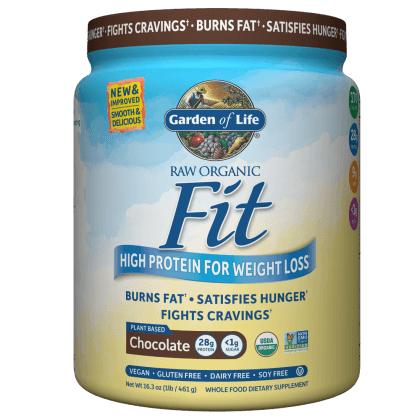 Supplements - Garden Of Life Raw Fit Chocolate 461g