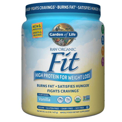 Supplements - Garden Of Life Raw Fit Vanilla 457g