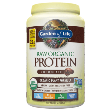 Supplements - Garden Of Life Raw Organic Protein Chocolate 660g