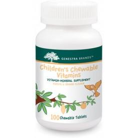 Supplements - Genestra Children's Chewable Vitamin 100 Tablets