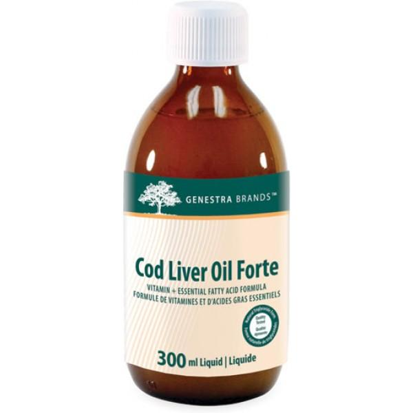 Supplements - Genestra Cod Liver Oil Forte 300ml