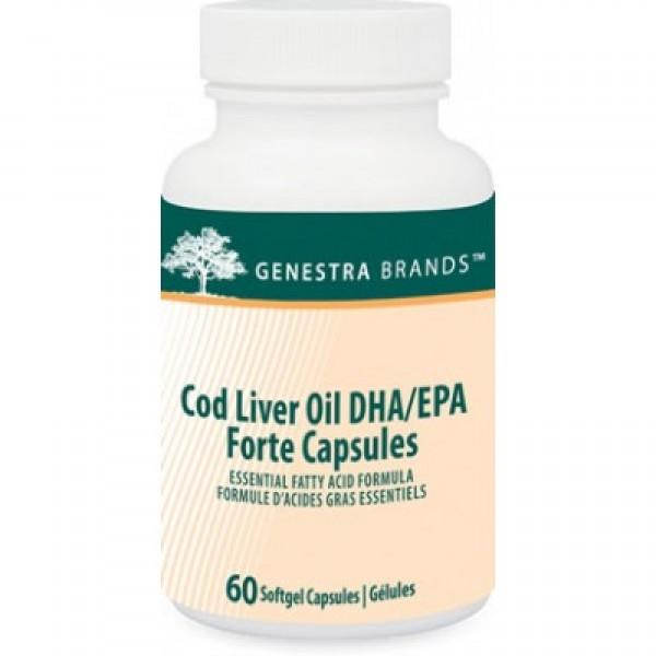 Supplements - Genestra Cod Liver Oil Forte 60 Caps