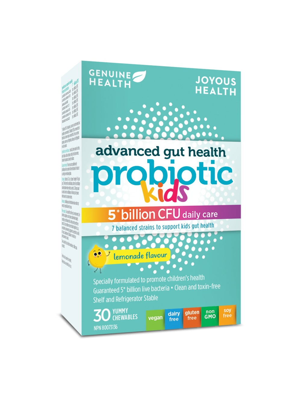 Supplements - Genuine Health - Kids Advanced Gut Health, 30 Caps
