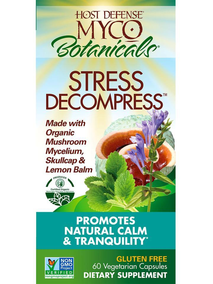 Supplements - Host Defense - Stress Decompress, 60 Caps