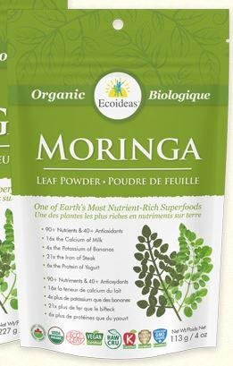 Supplements - Moringawise - Org Moringa Powder, 113G