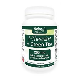 Supplements - Naka - L-theanine Green Tea, 90 Caps