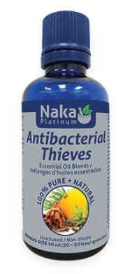 Supplements - Naka Platinum - Antibacterial Thieves Oil, 50mL