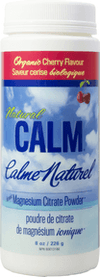 Supplements - Natural Calm - Calm Magnesium Cherry, 226g