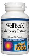 Supplements - Natural Factors - Mulberry Extract, 90 Caps