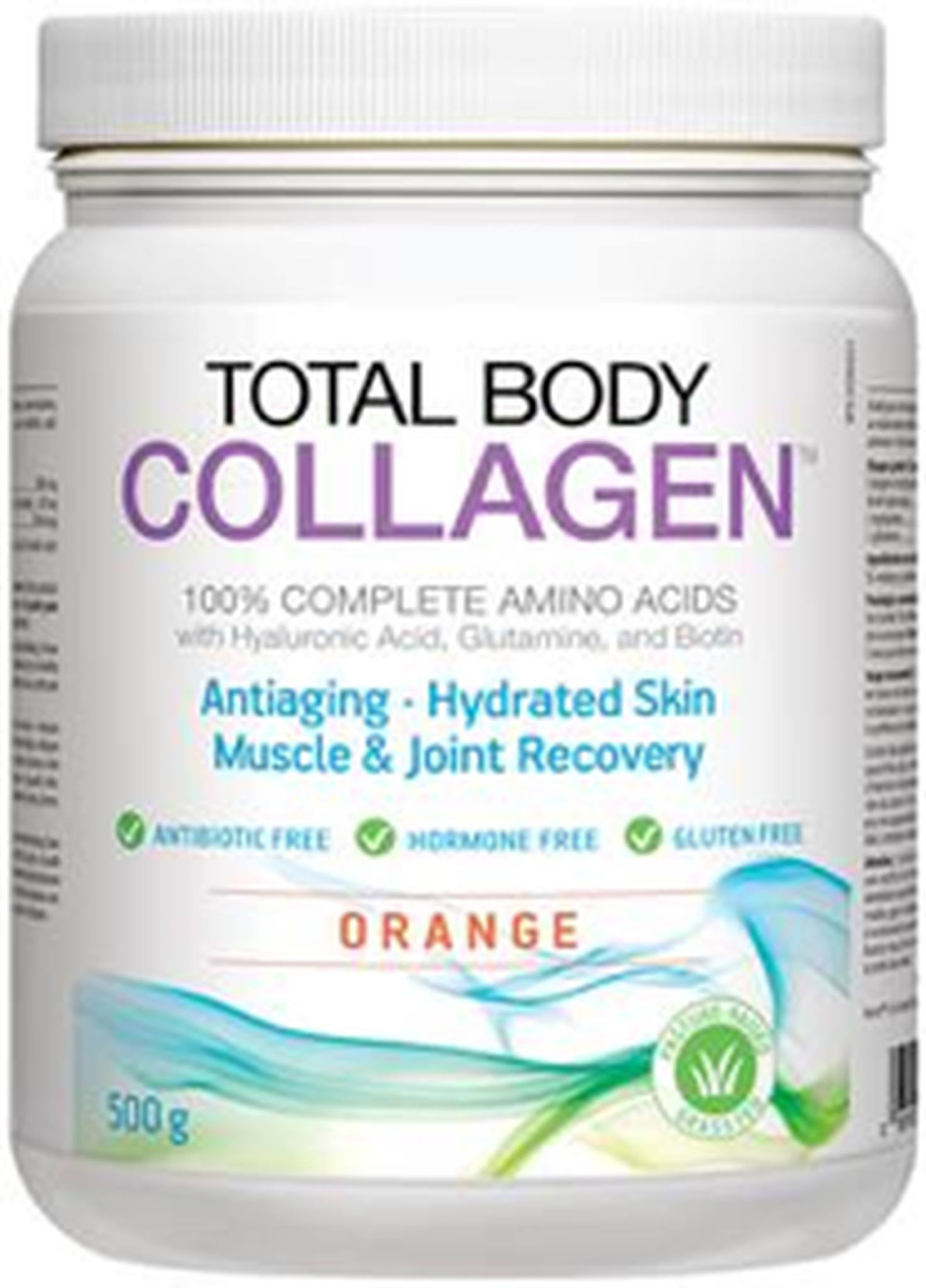 Supplements - Natural Factors - Total Body Collagen (Orange), 500g