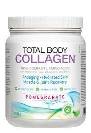 Supplements - Natural Factors - Total Body Collagen (Pomegranate), 500g