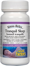 Supplements - Natural Factors - Tranquil Sleep, 10 Tabs
