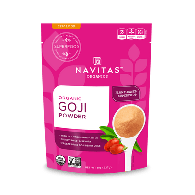 Supplements - Navitas Organics - Goji Powder, 113g