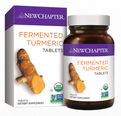 Supplements - New Chapter - Fermented Turmeric Tablets, 48 Tabs