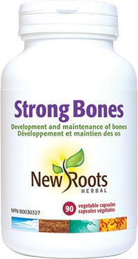 Supplements - New Roots Herbal - Strong Bones, 90 Caps